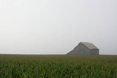 Photograph - Fieldview Fog Burn by Dylan Punke