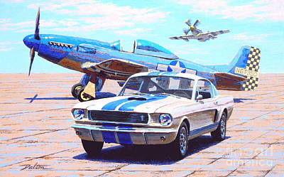 Fighter And Shelby Mustangs Original