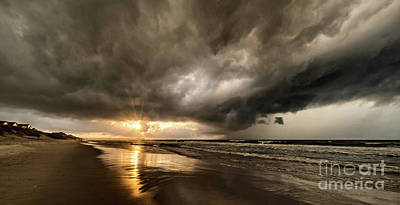 Photograph - Fighting The Storm Clouds by DJA Images