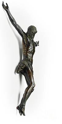 Sculpture - Figure Of The Crucified Christ, Cast From A Model By Giambologna, Attributed To Antonio Susini And W by Giambologna