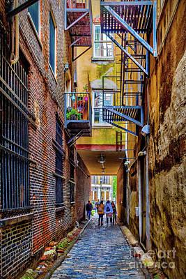 Photograph - Filbert St Olde City by Nick Zelinsky