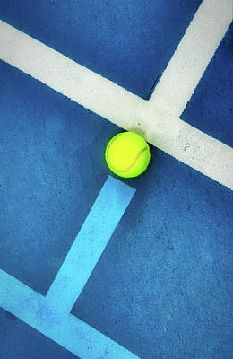 Photograph - Filling The Tennis Court Gap by Gary Slawsky