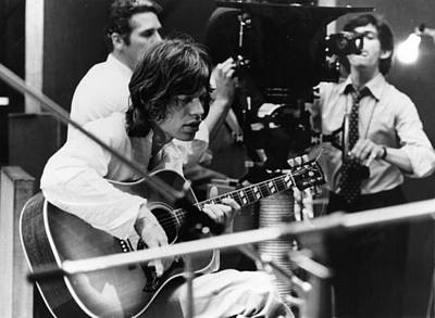 Photograph - Filming Jagger by Keystone Features