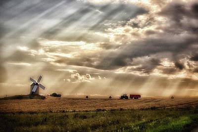 Photograph -  Fin De La Journee by Matthew Pace
