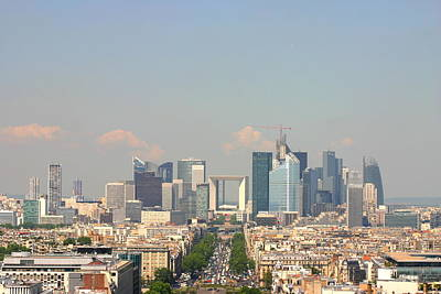 Financial District Photograph - Financial Buidings In Paris by All Right Rs