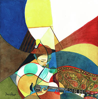 Painting - Finding Chords by David Ralph