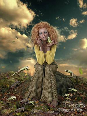 Mixed Media - Finding My Prince by Shanina Conway