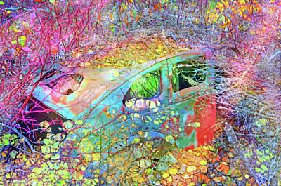 Digital Art - Finding The Beauty In Being Left Behind by Tara Turner