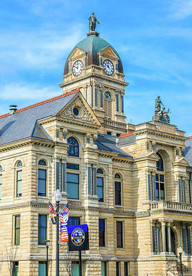 Photograph - Findlay Ohio Courthouse by Dan Sproul