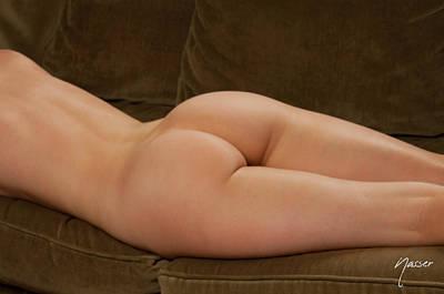 Fine Art Nude Of Julie Darling 0887 Original