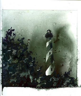 Painting - Fine Art Watercolor Painting On Yupo Synthetic Of Cape Hatteras  by Ryan Fox
