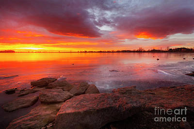 Photograph - Fire And Ice by Ronda Kimbrow