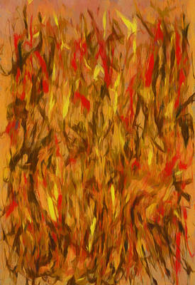 Painting - Fire Dance by Dan Sproul