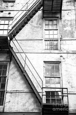 Photograph - Fire Escape Angle In New Orleans by John Rizzuto