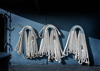 Photograph - Fire Hoses by Bud Simpson