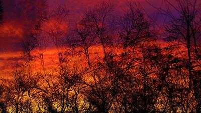 Photograph - Fire by Jorg Becker