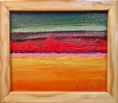 Painting - Fire Line by Les Leffingwell