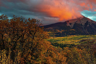 Photograph - Fire Sky by John De Bord