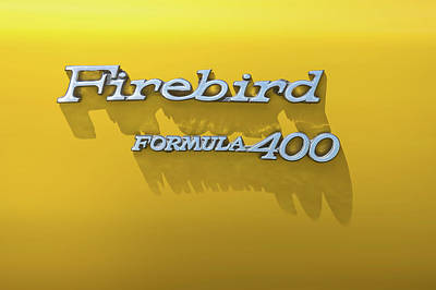 Antique Maps - Firebird Formula 400 by Scott Norris