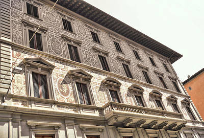 Photograph - Firenze Building Art by JAMART Photography