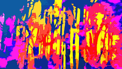 Fires And Passion Two Art Print