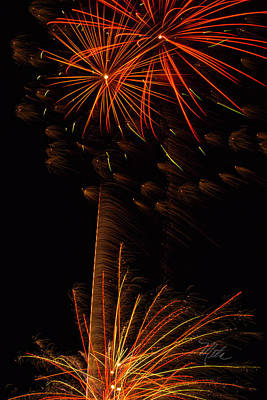Photograph - Fireworks Bang Bang by Meta Gatschenberger