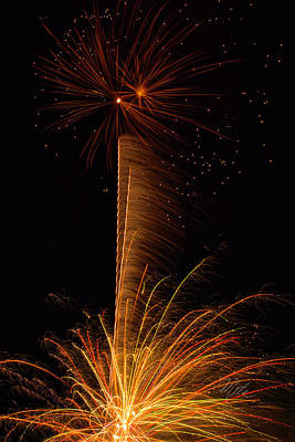 Photograph - Fireworks Bang by Meta Gatschenberger