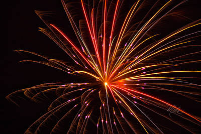 Photograph - Fireworks Pizzazz by Meta Gatschenberger