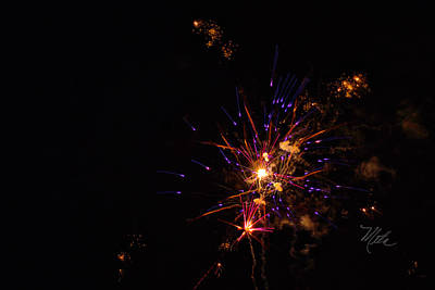 Photograph - Fireworks Snap Crackle Pop by Meta Gatschenberger