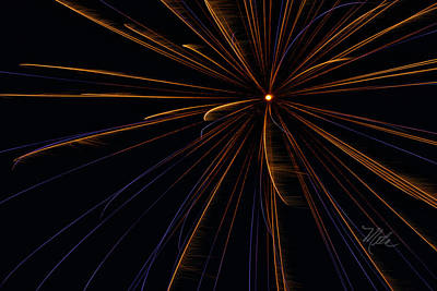 Photograph - Fireworks Sputnik by Meta Gatschenberger