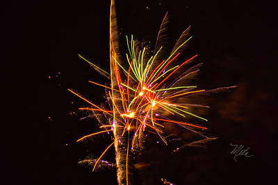 Photograph - Fireworks Happy New Year by Meta Gatschenberger