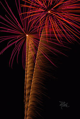 Photograph - Fireworks Zoom by Meta Gatschenberger