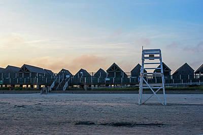 Photograph - First Beach Beach Houses Newport Rhode Island Ri by Toby McGuire