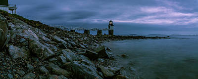 Photograph - First Light - Marshall Point Panorama by ProPeak Photography