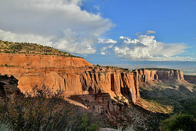 Photograph - First Light On Colorado National Monument by Ray Mathis