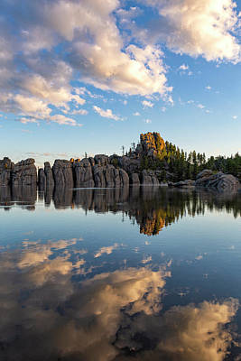 Photograph - First Light, Sylvan Lake by Denise Bush