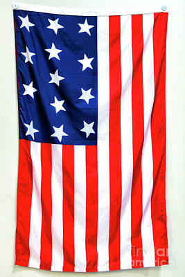 Photograph - First Official United States Flag In Boston by John Rizzuto