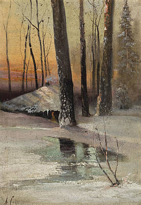 Painting - First Signs Of Spring by Alexei Savrasov