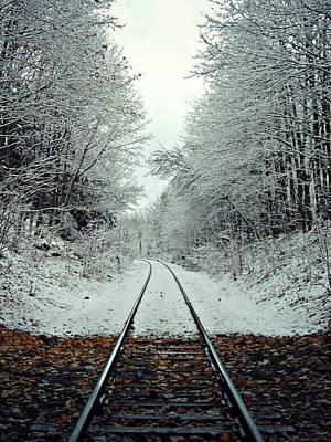 Photograph - First Snow Fall 15 by Cyryn Fyrcyd