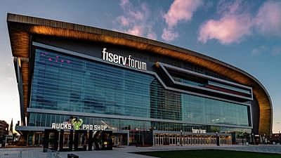Photograph - Fiserv.forum by Randy Scherkenbach