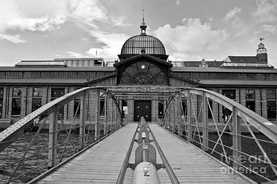 Photograph - Fish Auction Hall In Hamburg-altona by Silva Wischeropp