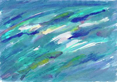 Painting - Fish In Water by Irina Dobrotsvet