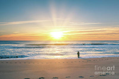 Photograph - Fisherman At Sunrise by Michael Ver Sprill