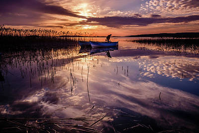 Photograph - Fisherman On The Boat by Okan YILMAZ