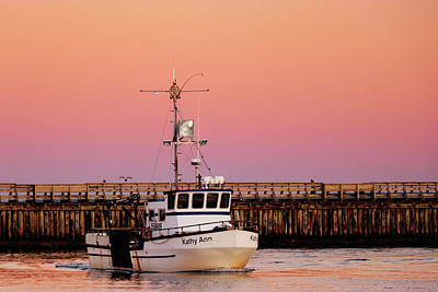 Photograph - Fishing At Sunset by Lost RIver Photography