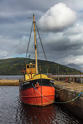 Photograph - Fishing Boat On The Coast Of Scotland by Debra and Dave Vanderlaan