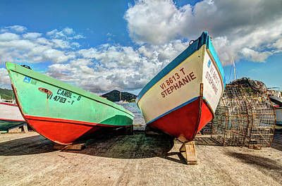 Photograph - Fishing Boats In Frenchtown by Gary Felton