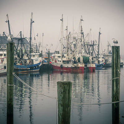 Photograph - Fishing Boats by Steve Stanger