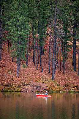 Photograph - Fishing Fenton Lake by Jeff Phillippi