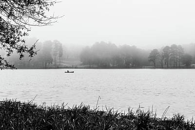 Photograph - Fishing In The Fog by James L Bartlett